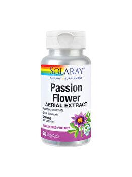 Supliment alimentar Solaray by Secom Passion Flower (Floarea-pasiunii) 30 capsule Solaray by Secom