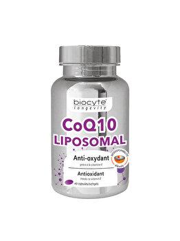 Supliment alimentar Biocyte Coenzyme Q10 Lipozomala, 40 capsule de la BYOCYTE