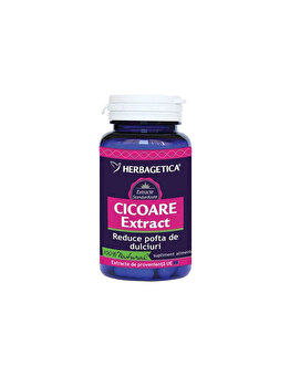 Supliment alimentar Herbagetica Cicoare extract 30 capsule de la Herbagetica