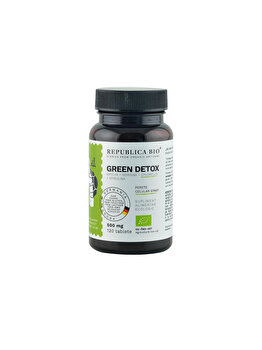 Green Detox ecologic Republica BIO, 120 tablete de la Republica Bio