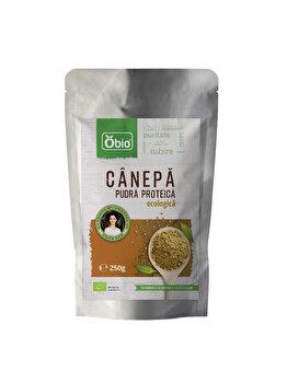 Proteina de canepa Obio raw bio, 250 g Obio