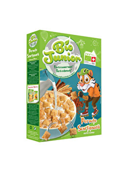 Cereale pernute Bio Junior cu scortisoara, 275 g de la Bio Junior