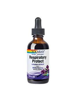 Supliment alimentar Solaray by Secom Respiratory Protect Cough Syrup 59ml de la Solaray by Secom