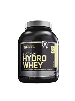 Izolat proteic din zer hidrolizat Optimum Nutrition Platinum Hydro Whey Vanilla Bean 1590g Optimum Nutrition