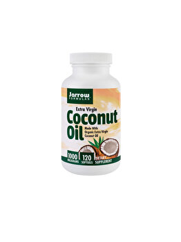 Supliment alimentar Jarrow Formulas by Secom Coconut Oil Extra Virgin 1000mg 120 capsule moi de la Jarrow Formulas by Secom