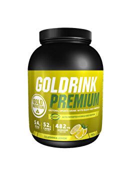 GoldNutrition Goldrink Premium + BCAA's Lamaie, 750 grame GoldNutrition