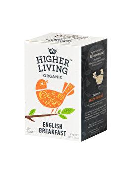 Ceai english breakfast Higher Living 15 dz, 45 g