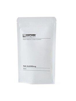 Supliment alimentar Oxford Vitality Acid Folic Extra 800 mcg, 500 tablete de la Oxford Vitality