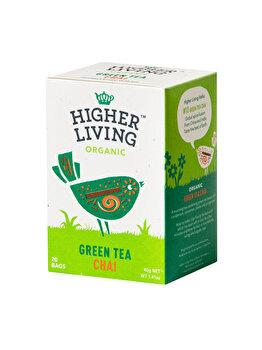 Ceai verde chai Higher Living bio 20 dz, 40 g