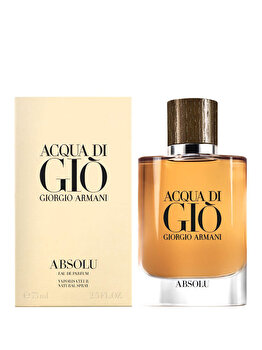 Apa de parfum Giorgio Armani Acqua di Gio Absolu, 75 ml, pentru barbati imagine produs