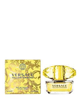 Apa de toaleta Versace Yellow Diamond, 50 ml, pentru femei imagine produs