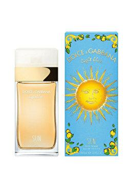 Apa de toaleta Dolce & Gabbana Light Blue Sun, 100 ml, pentru femei imagine produs