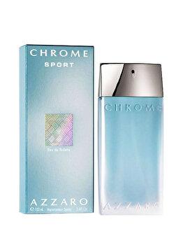 Apa de toaleta Azzaro Chrome Sport, 100 ml, pentru barbati poza