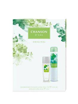 Set cadou Chanson Original (Deospray natural 75 ml + Deospray 200 ml), pentru femei imagine produs