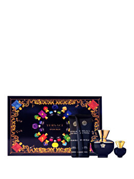 Imagine Set Cadou Versace Dylan Blue Pour Femme apa De Parfum 100 Ml Gel