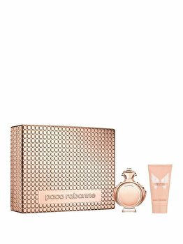 Set cadou Paco Rabanne Olympea (Apa de parfum 50 ml + Lotiune de corp 75 ml), pentru femei imagine produs