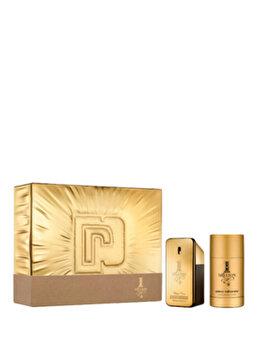 Set cadou Paco Rabanne 1 Million (Apa de toaleta 50 ml + Deostick 75 ml), pentru barbati imagine produs