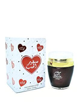 Lotiune de corp si de maini Ard al Zaafaran Safeer al Hub, 100 ml, pentru femei imagine produs