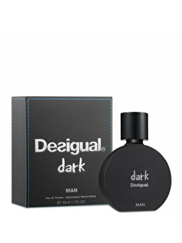 Apa de toaleta Desigual Dark, 50 ml, pentru barbati imagine produs