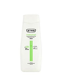 Gel de dus STR8 Hydra Boost, 400 ml, pentru barbati poza
