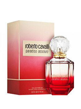 Apa de parfum Roberto Cavalli Paradiso Assoluto, 75 ml, pentru femei imagine produs