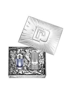 Set cadou Paco Rabanne Invictus (Apa de toaleta 50 ml + Deostick 75 ml), pentru barbati imagine produs