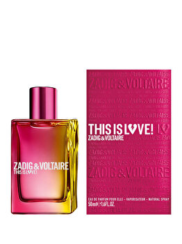Apa de parfum Zadig & Voltaire This is Love, 50 ml, pentru femei imagine produs