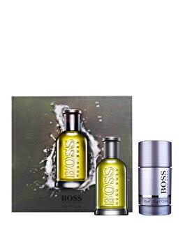 Set cadou Hugo Boss Bottled (Apa de toaleta 50 ml + Deostick 75 ml), pentru barbati imagine produs