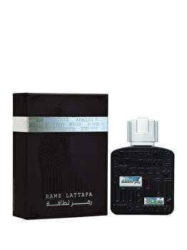 Apa de parfum Lattafa Ramz Silver, 100 ml, pentru barbati imagine