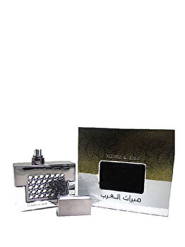 Apa de parfum Ard al Zaafaran Mirath al Arab Silver, 100 ml, pentru barbati imagine produs