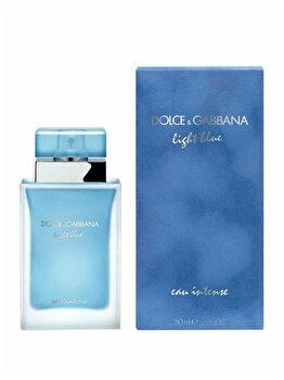 Apa de parfum Dolce & Gabbana Light Blue Eau Intense, 50 ml, pentru femei imagine produs