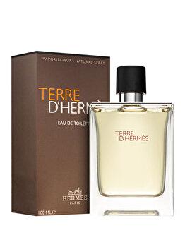 Apa de toaleta Hermes Terre D'Hermes, 100 ml, pentru barbati imagine produs