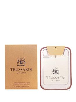 Apa de toaleta Trussardi My Land, 100 ml, pentru barbati poza