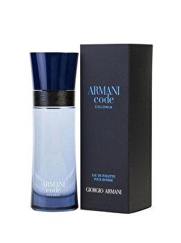 Apa de toaleta Giorgio Armani Code Colonia, 75 ml, pentru barbati imagine produs