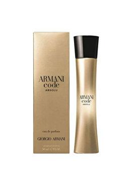 Apa de parfum Giorgio Armani Code Absolu Femme, 50 ml, pentru femei imagine