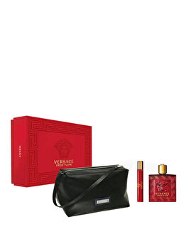 Imagine Set Cadou Versace Eros Flame apa De Parfum 100 Ml Apa