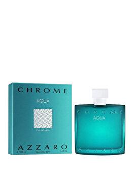 Apa de toaleta Azzaro Chrome Aqua, 100 ml, pentru barbati imagine produs