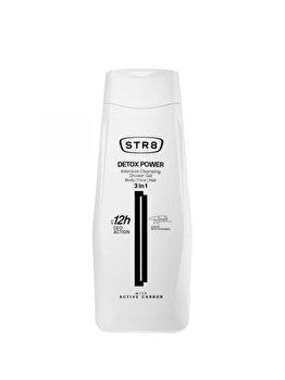Gel de dus STR8 Detox Power, 400 ml, pentru barbati poza