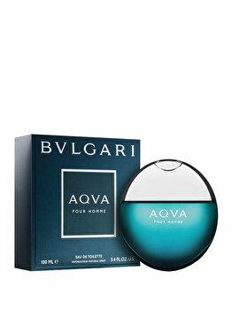 Apa de toaleta Bvlgari Aqva Pour Homme, 100 ml, pentru barbati imagine produs