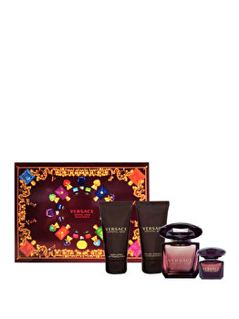 Imagine Set Cadou Versace Crystal Noir apa De Toaleta 90 Ml Lotiune