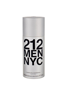 Deospray Carolina Herrera 212 NYC Men, 150 ml, pentru barbati imagine produs