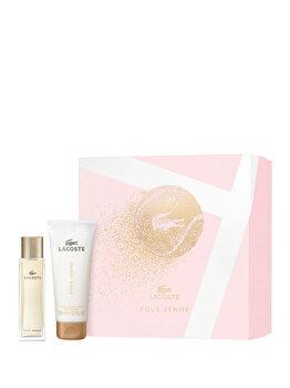 Set cadou Lacoste Pour femme (Apa de parfum 50 ml + Lotiune de corp 100 ml), pentru femei imagine produs