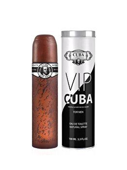 Apa de toaleta Cuba VIP, 100 ml, pentru barbati imagine produs