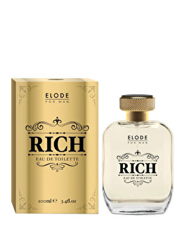 Apa de toaleta Elode Rich, 100 ml, pentru barbati imagine