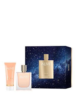 Set cadou Hugo Boss Alive (Apa de parfum 50 ml + Lotiune de corp 75 ml), pentru femei imagine produs