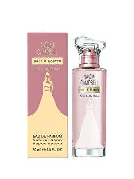 Apa de parfum Naomi Campbell Pret a Porter Silk Collection, 30 ml, pentru femei imagine produs