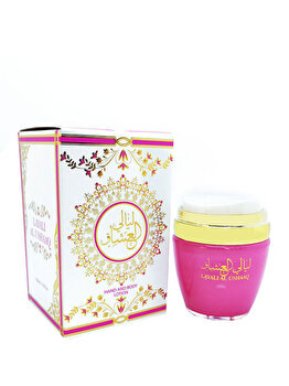 Lotiune de corp si de maini Ard al Zaafaran Layali Al Ushaaq, 100 ml, pentru femei imagine produs
