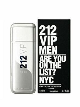 Apa de toaleta Carolina Herrera 212 VIP, 100 ml, pentru barbati imagine produs