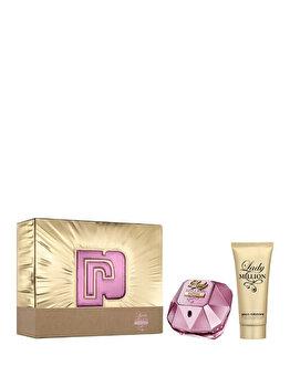 Set cadou Paco Rabanne Lady Million Empire (Apa de parfum 50 ml + Lotiune de corp 75 ml), pentru femei imagine produs