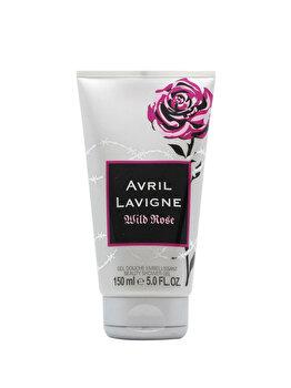 Gel de dus Avril Lavigne Wild Rose, 150 ml, pentru femei poza